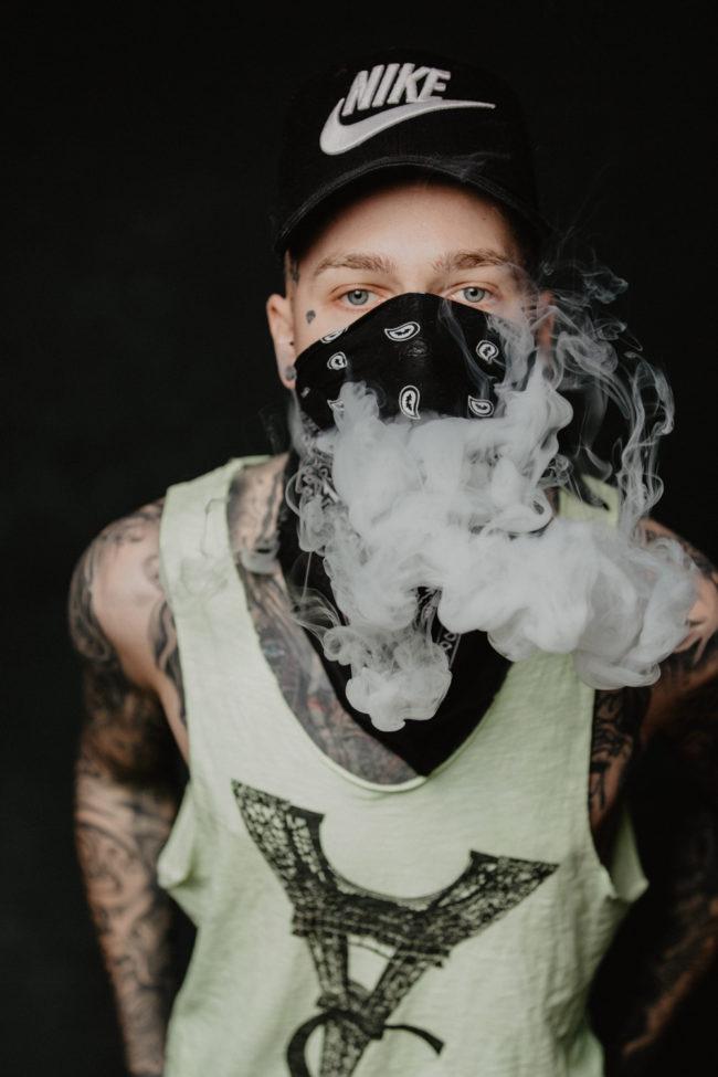 Tattoo Ink Inked Guy Portrait Zürich Pola Sedcard Armin Nussbaumer